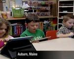 در یک کودکستان با iPad2 خواندن و نوشتن یاد میدهند!