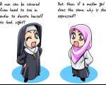 کاریکاتور های یک مسلمان اروپایی