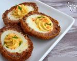 کوکوی خوشمزه اسکاتلندی با مغز تخم مرغی