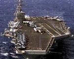 ناو هواپیمابر آیزنهاور آمریکا در ساحل سوریه مستقر شد