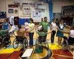 اولین دوره مساببقات رقص و حرکات موزون معلولین +عکس