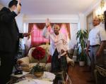 پیرزن 101 ساله شهروند آمریکا شد (+عکس)