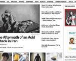 عکس های «بابا اسید ریخت» در مجله تایم