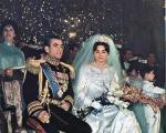 ازدواج محمدرضا پهلوی و فرح دیبا +عکس