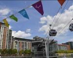 تصاویر ماشین های کابلی ویژه بازیهای المپیک/ سفر 5 دقیقه ای بر فراز لندن
