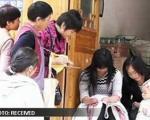 هنرنمایی زن چینی بدون انگشت