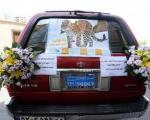 ماشین عروس یوزپلنگی! +عکس
