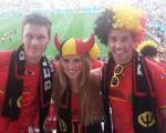 زیباترین دختر تماشاچی فوتبال جام جهانی برزیل انتخاب شد+ تصاویر