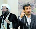 """کنایه دوباره رییس قوه قضاییه به احمدی نژاد: نمیتوانیم تابع """"توهم خط قرمز"""" باشیم/ برادر و فرزند نمیشناسم"""