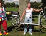 با این دوچرخه عجیب، پیادهروی کنید! +عکس