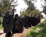 ارتش زنان و کودکان داعش (+عکس)