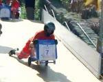 جام جهانی راندن سطل زباله +عکس