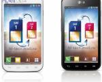 لو رفتن جدیدترین گوشی هوشمند ال جی با دو سیم کارت