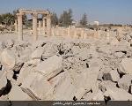 داعش تصاویر نحوه انفجار معبد ۲۰۰۰ ساله را منتشر کرد