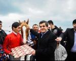 یاسر هاشمی در مسابقات اسب سواری (عکس)