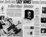 کنترل تلویزیون چه طور اختراع شد؟