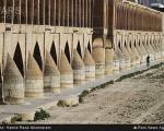 خشکسالی زاینده رود اصفهان (عکس)