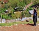 عکس: گشتی در روستای بندول در کردستان
