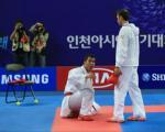 حرکات عجیب کاراته کار ایرانی که موجب اخراجش از بازی ها شد + عکس