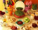 عید ایرانی با هفتسین چینی