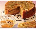 کیک انجیر و ماست