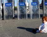 """""""آیلان سازی"""" مهاجران سوری برای عبور از ترکیه (+عکس)"""