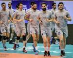 عکس: تمرین تیمهای والیبال ایران و آمریکا