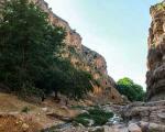 آبشار زیبای حمید در بجنورد
