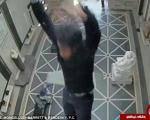 تصاویر دلهره آور سقوط یک مهندس از ارتفاع 12 متری