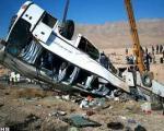 یککشته و ۲۹زخمی در واژگونیاتوبوسمرودشت