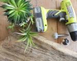 گلدان چوبی زیبا بسازید