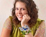 آموزش درست کردن دستبند چرمی خوشه ای + عکس