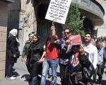 تصاویری از راهپیمایی ارامنه در تهران