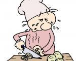 اگر می خواهید موقع خرد کردن پیاز اشک نریزید !!!