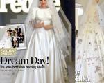 عکس: لباس و حلقه عروسی «آنجلینا»