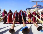 آیین قربانی کردن در مقبره چنگیز خان مغول (+عکس)