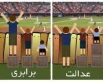 آیا عدالت به معنای برابری است؟