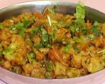 طرز تهیه ی غذای سبزیجات (غذای هندی)