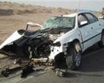 تصادف سمند با سوناتا ۲ کشته و ۸ مصدوم به جا گذاشت