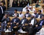 حضور احمدینژاد در مسابقات بینالمللی قرآن؛ این بار هم بدون مشایی /عکس