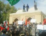 حمله به مقبـره یک ایرانشناس در اصفهـان!/تصاویـر