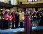 عکس: نماز جماعت به امامت یک زن