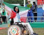 زهرا نعمتی پنجمین طلایی کاروان ایران