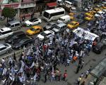 راهپیمایی طرفداران خلافت اسلامی این بار در استانبول (+عکس)