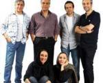 راز دستکش پوشیدن مهران مدیری سر صحنه «ویلای من»+عکس