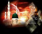 عکس کارت پستال رحلت پیامبر اکرم (ص)
