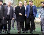 بازدید مسجدجامعی از کمپ تمرینی استقلال