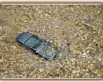 تلفنهای همراهی که در آب میافتند