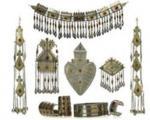 زیورآلات ترکمن، زیورآلاتی برپایه شکل و هندسه