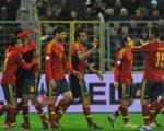پیروزی پرگل اسپانیا با هتتریک پدرو+سایر نتایج مقدماتی جام جهانی 2014-اروپا